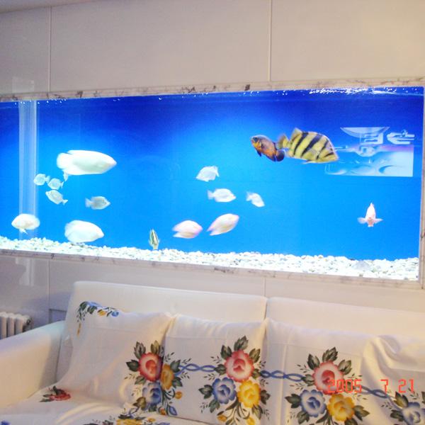北京万邦大厦鱼缸