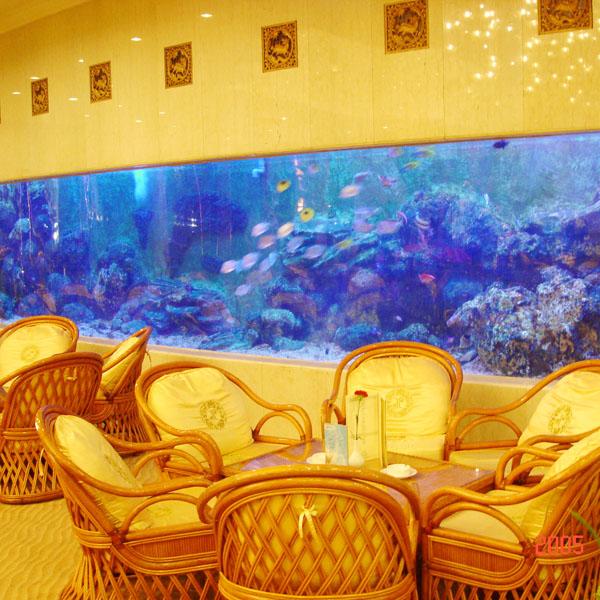 北京翠宫饭店亚克力鱼缸